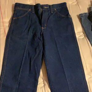 Wrangler men's blue jeans new size 29 x 32